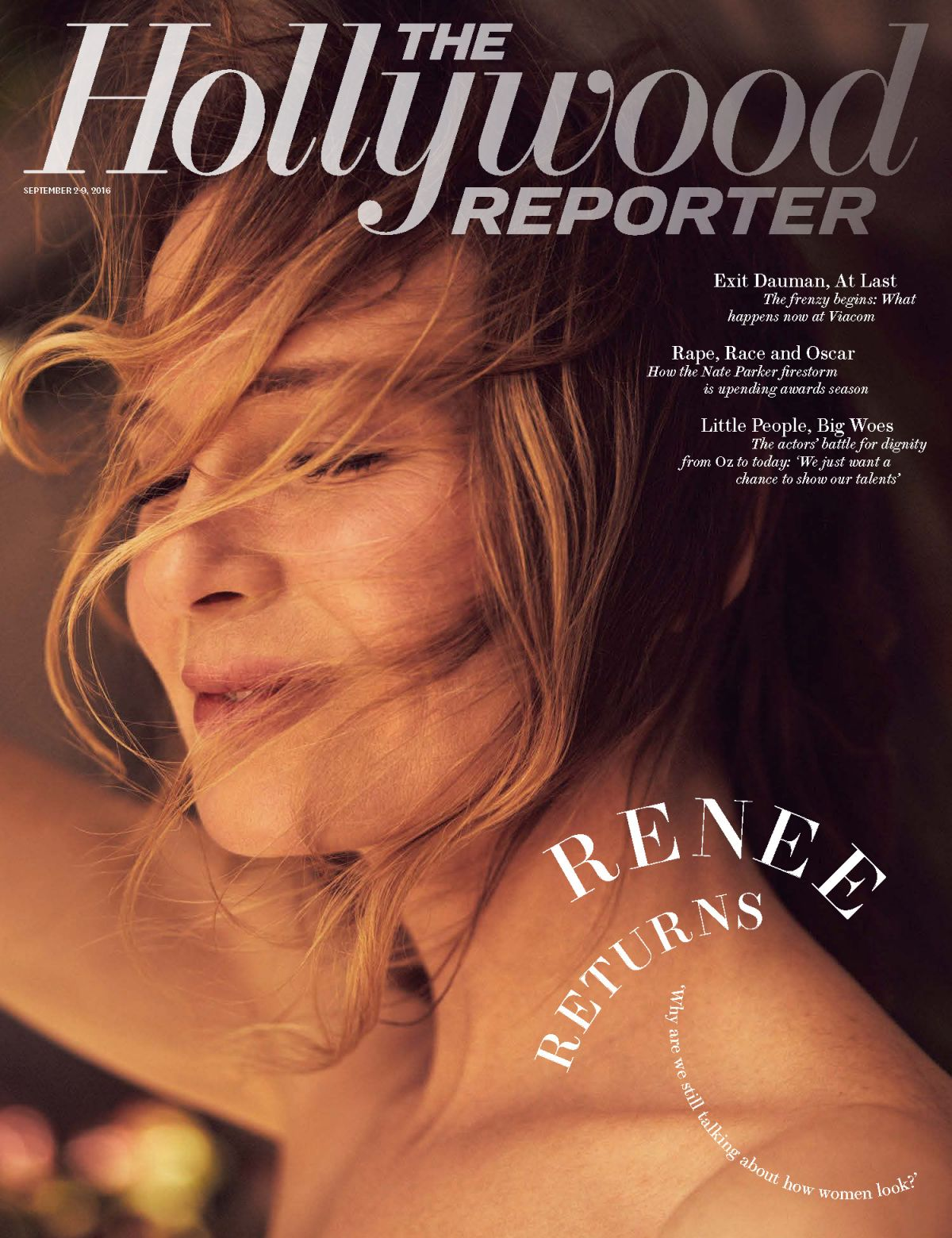 Renee Zellweger PhotoShoot For The Hollywood Reporter September 2016