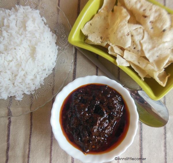 Puli Kachal, Tamarind Paste