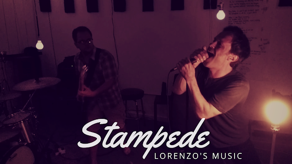 Stampede - Biting Elbows - cover by Lorenzo's Music