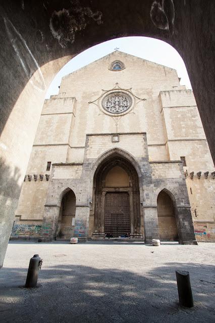 Chiesa di Santa Chiara-Piazza del Gesù nuovo-Napoli