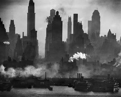 Ουρανοξύστες στη Νέα Υόρκη της δεκαετίας του 40, LIFE magazine