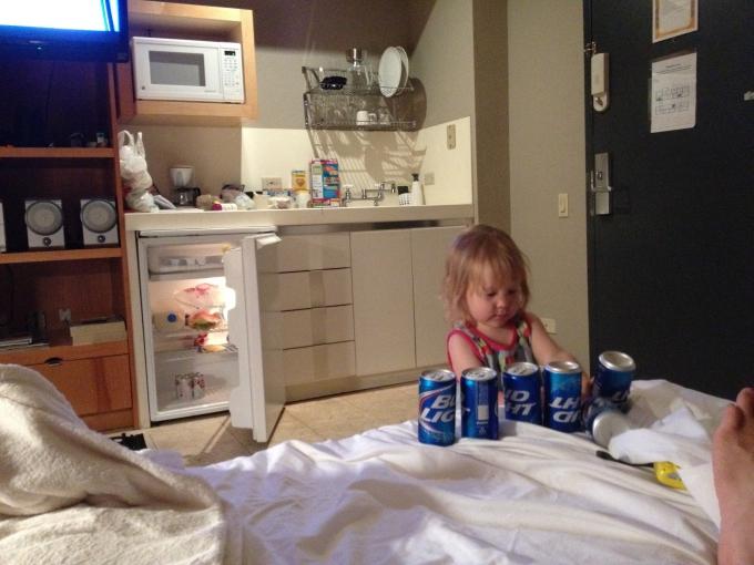 Kokemuksia Miami Beachin hotelleista ja majoituksista lasten kanssa sekä leikkipaikoista / Mercury Hotel Miami