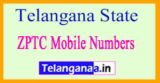 ZPTC Member | Vice-President Mobile Numbers List All Districts in Telangana State