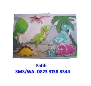 Mainan Anak Playboard Dinosaurus