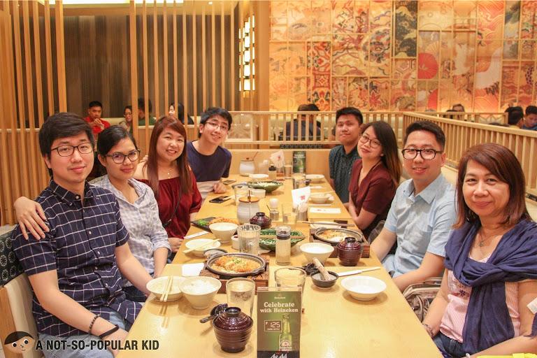 Renz Cheng in Saboten, Serendra - Birthday 2019