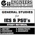 IES, PSUs General Studies Material PDF Download