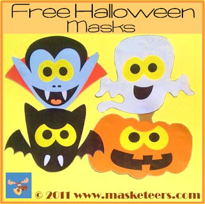 Free Halloween Masks for kids