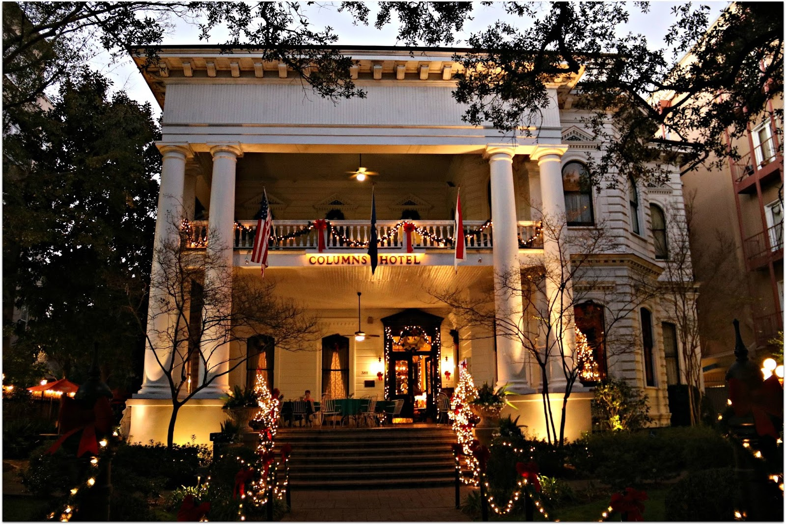 Haunted Nation: Columns Hotel - New Orleans, LA (Haunted Home or ...