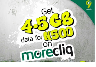 How to activate 6GB for N500 9mobile (etisalat)