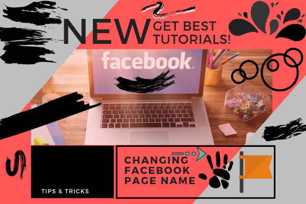How To Change Name Of Page On Facebook<br/>