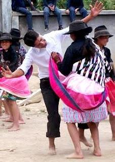 Foto de Huaylas antiguo se baile sin zapatos