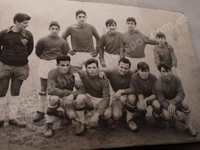 Equipo futbol Piensos Sovid de Binefar