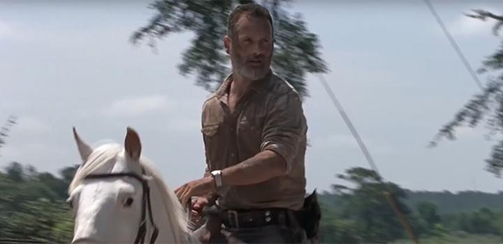 Último episódio de Rick Grimes The Walking Dead 2018