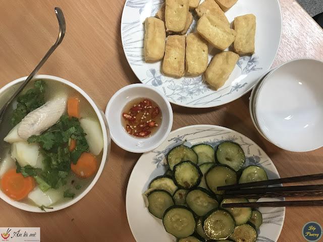 [Bếp Phượng kể 72] - Bữa ăn chay đơn giản | Bếp Phượng tại Mátxcơva