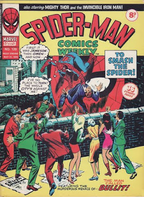Spider-Man Comics Weekly #120