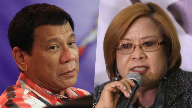 Duterte to De Lima: I will kill her 'with love'