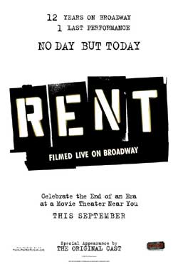 Rent: Filmed Live on Broadway (2008)