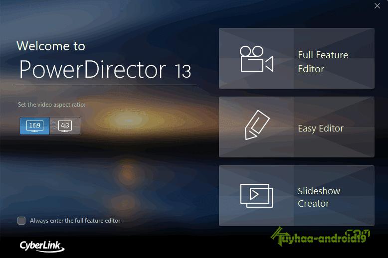 Cyberlink PowerDirector Ultimate v13.0.2408