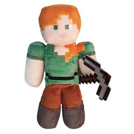 Minecraft Spin Master Alex Plush