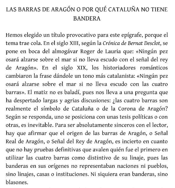 Aixó no estabe al meu llibre de História de Cataluña