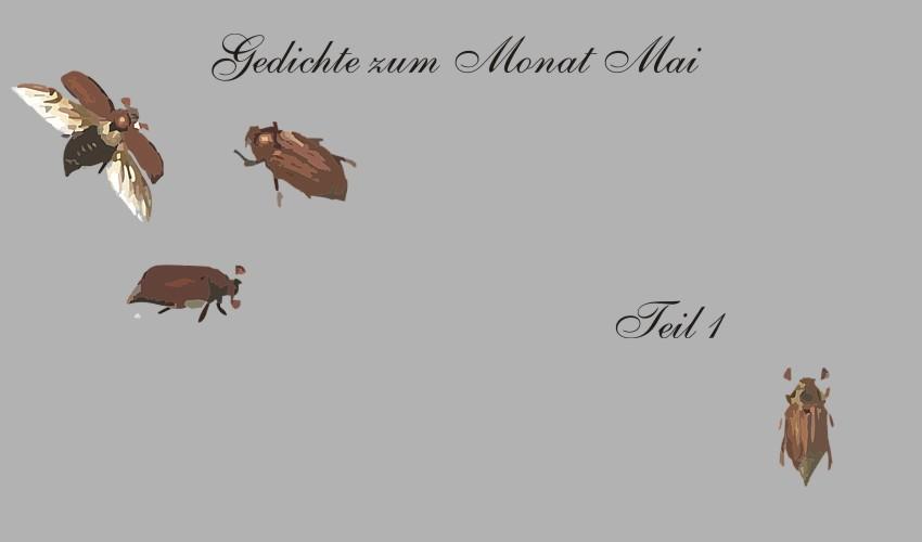 Gedichte Und Zitate Fur Alle Gedichte Zum Thema Monat Mai Teil 1