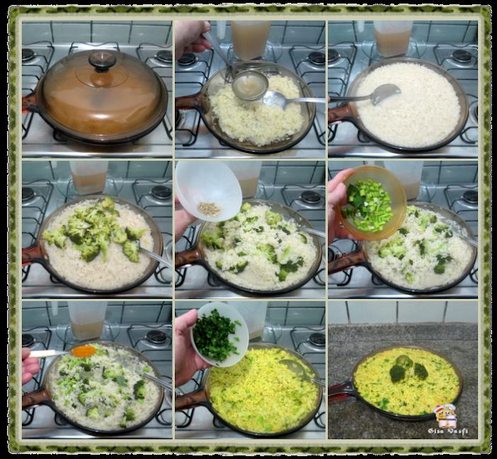 Risoto Alla Milanese de legumes 3