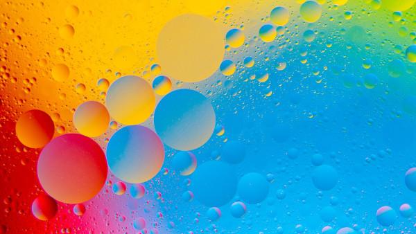 Colorful Bubbles - Fond d'Écran en HD