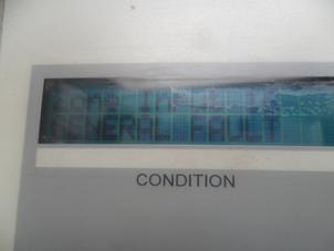 Screen On Fire Alarm Control Panel