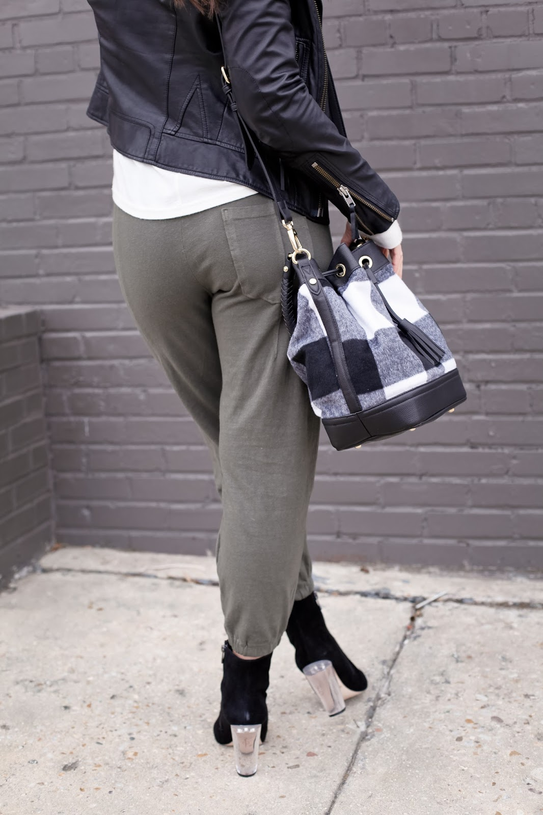 How to style joggers.