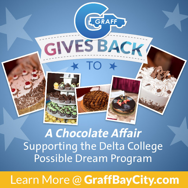 Graff Gives Back to the Delta College Possible Dream Program through A Chocolate Affair