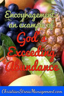 Christian Sermons: An example of God's exceeding abundance