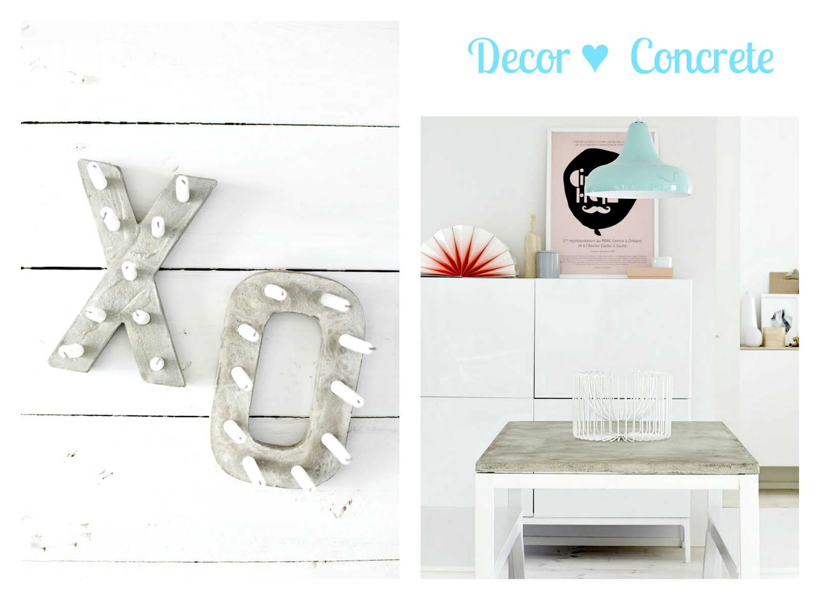 Decor  home Concrete