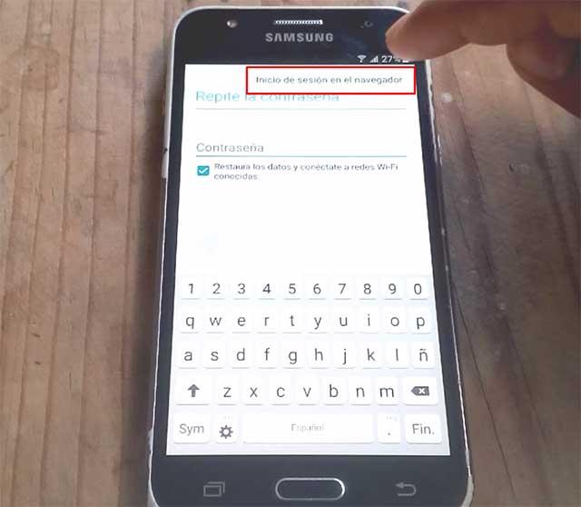 remover cuenta google samsung galaxy j3
