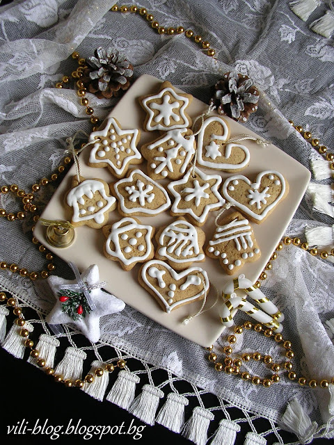 Коледни джинджифилови меденки