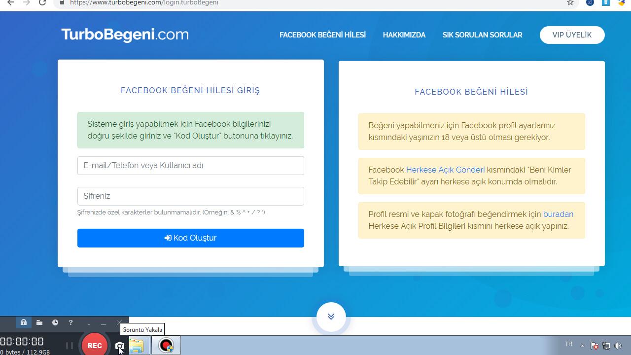 facebook takip hilesi 2019