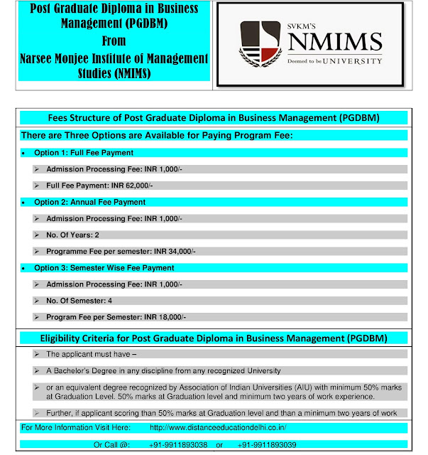 pg diploma courses nmims eli