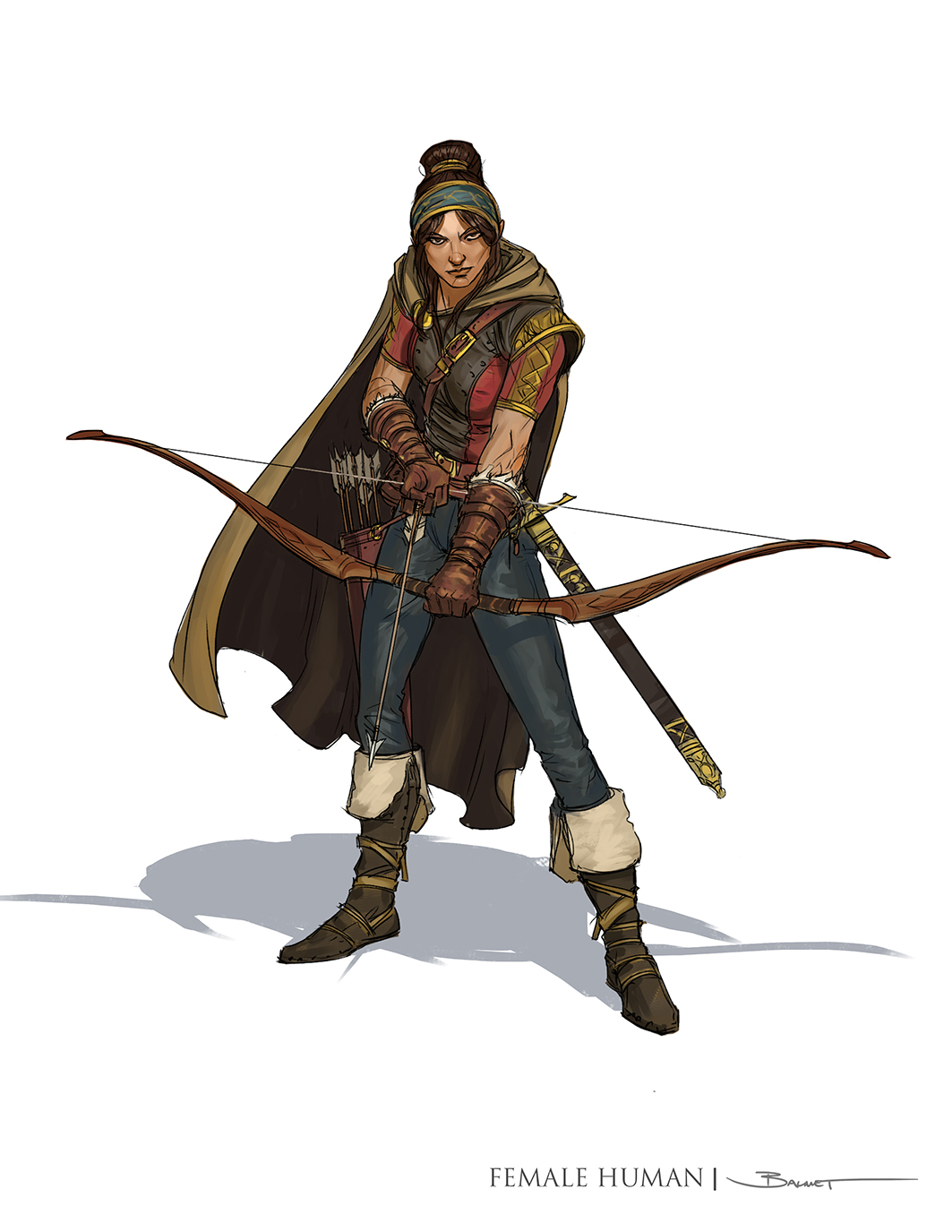 Human Ranger by John-Paul Balmet : ReasonableFantasy