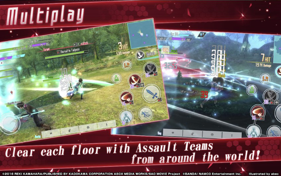 Sword Art Online Integral Factor Mod Apk Versi English Terbaru