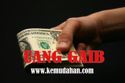 Uang gaib, Cara mendapatkan uang gaib