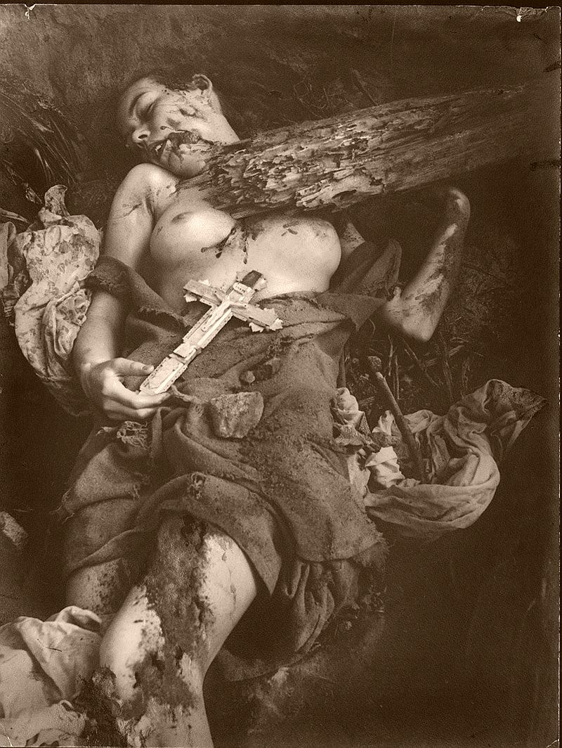 Grotesque Occult and Erotic Images by William Mortensen