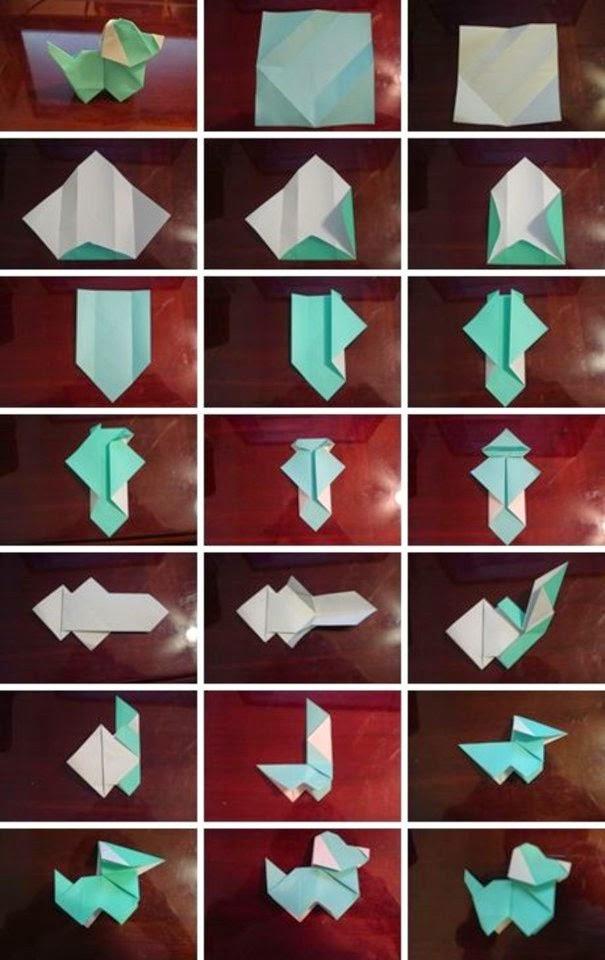 step by step origami - 605×960