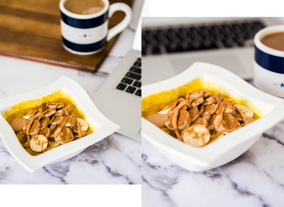 healthy-vegan-breakfast-bowl-with-warming-turmeric-banana-and-peanut-butter