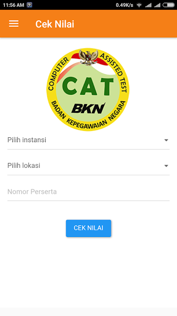 Login Official Cat BKN