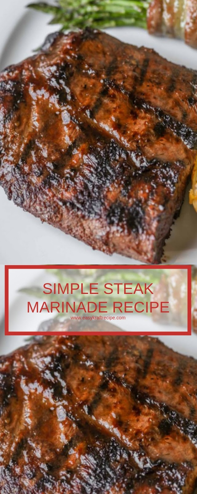 SIMPLE STEAK MARINADE RECIPE
