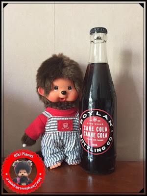 monchhichi salopette mamie papy grand ma kiki planet vintage Coca Cola Pepsi boylan cola canne sucre gout test bon plan nostalgikiki