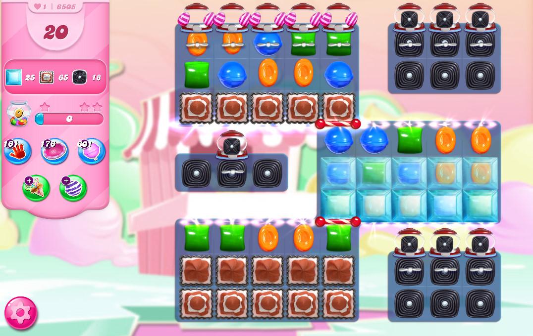 Candy Crush Saga level 6505