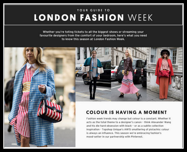 Topshop Guide to London Fashion Week SS16