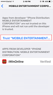 "Chọn Trust ""Mobile Entertainment Corporation"""
