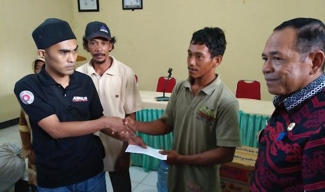 Bantuan Terkumpul Rp10 Juta, Rumah Korban Kebakaran di Malangke Mulai Dibangun
