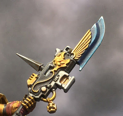 Custodian Guard Halberd Closeup